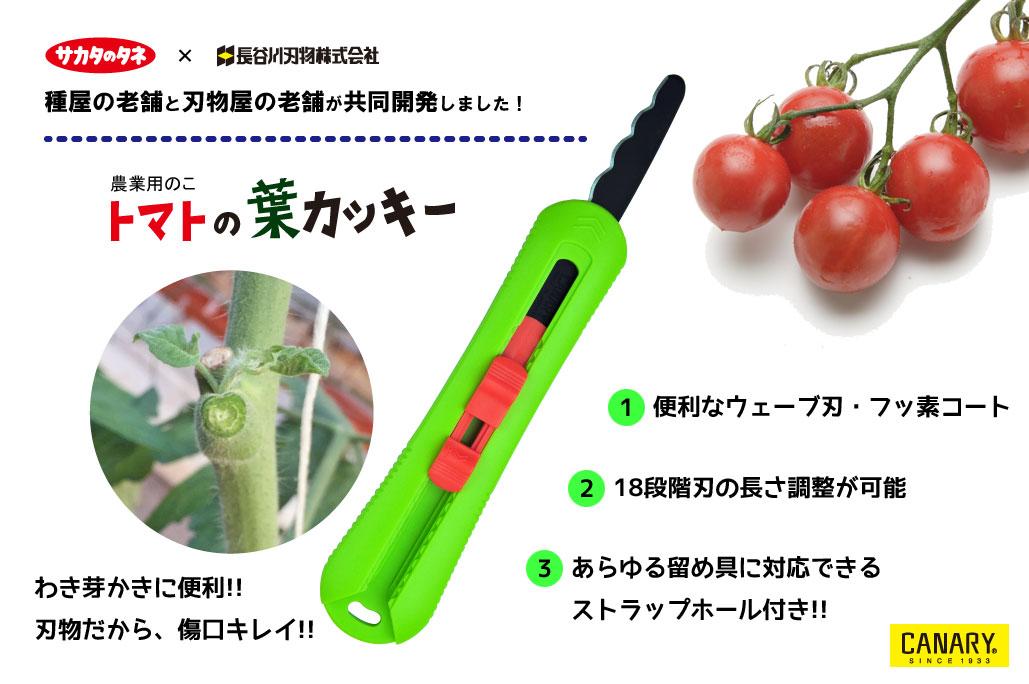 農業用のこ トマトの葉カッキ―
