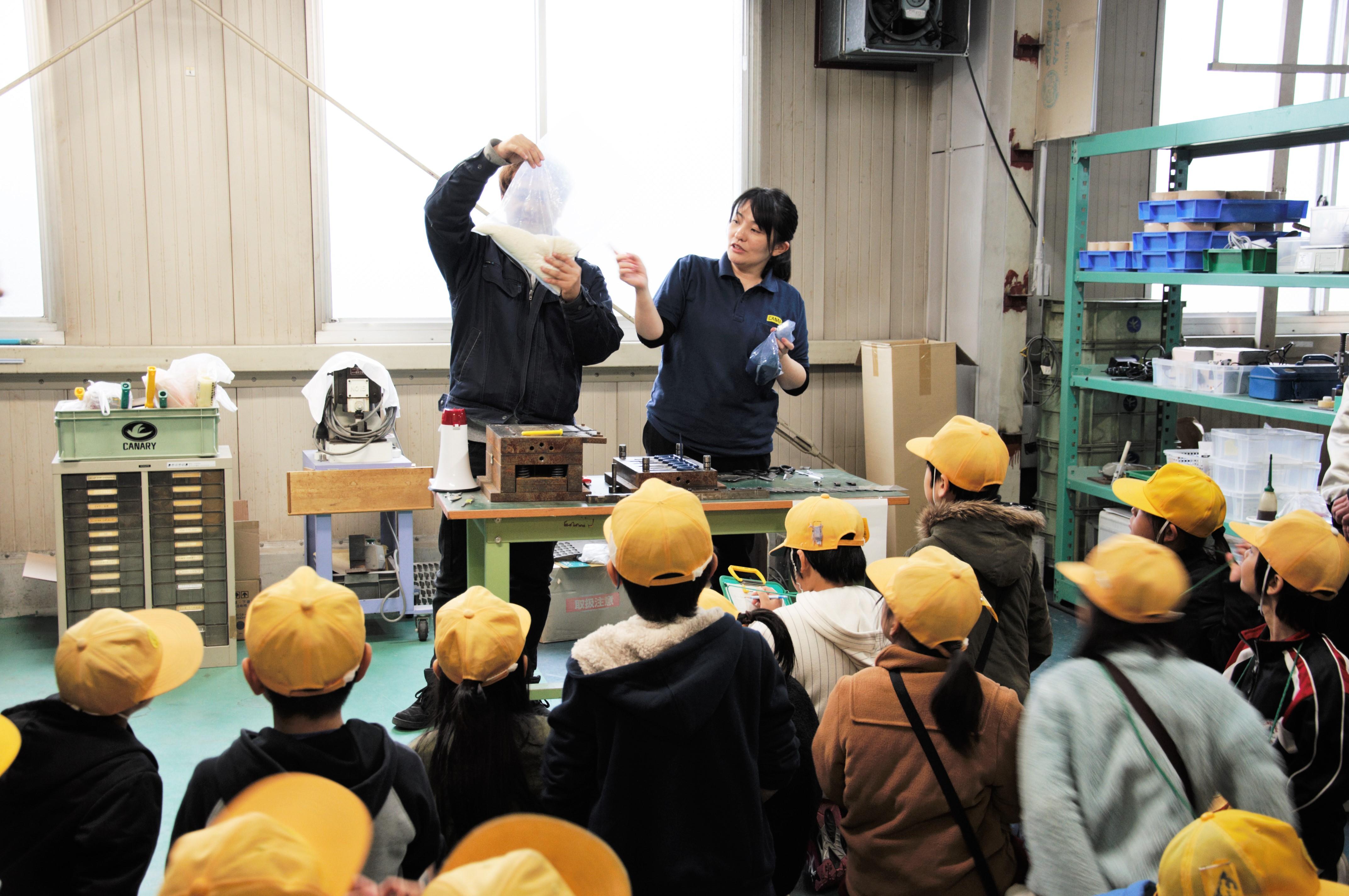 工場見学を開催しました。
